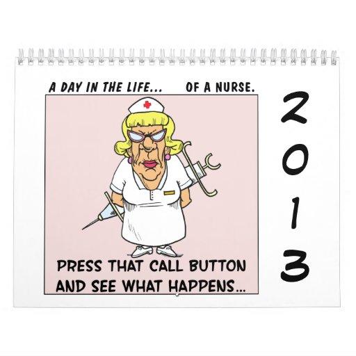 """2013 """"un día en historietas de la oficina de la vi calendarios de pared"""