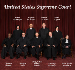 Supreme court justices 2013 and who appointed them 2