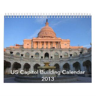 2013 US Capitol Building Calendar