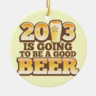 ¡2013 va a ser una BUENA CERVEZA! (parodia del Año Adornos De Navidad