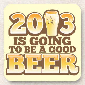 ¡2013 va a ser una BUENA CERVEZA! (parodia del Año Posavasos De Bebidas