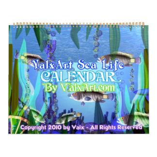 2013 Valxart Sea Life calendar
