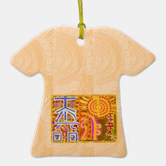 2013 ver. REIKI Healing MASTER Symbols Double-Sided T-Shirt Ceramic Christmas Ornament