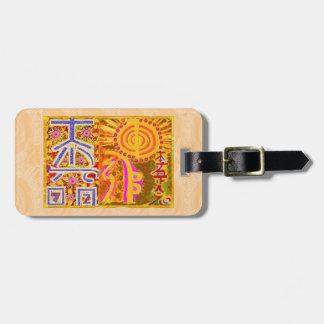 2013 ver. REIKI Healing MASTER Symbols Tag For Luggage