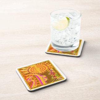 2013 ver. REIKI Healing Symbols Beverage Coaster