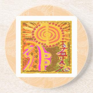 2013 ver. REIKI Healing Symbols Coaster