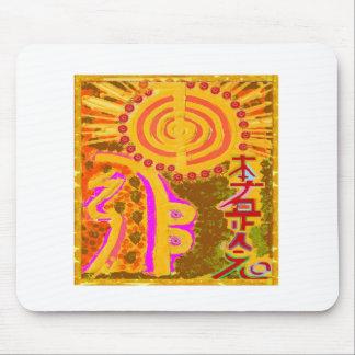 2013 ver. REIKI Healing Symbols Mouse Pad