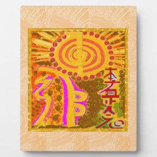 2013 ver. REIKI Healing Symbols Plaque