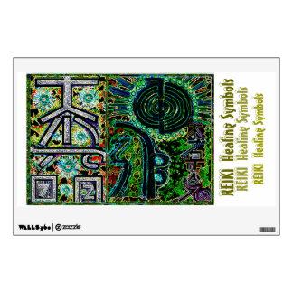 2013 ver. REIKI Healing Symbols Room Stickers