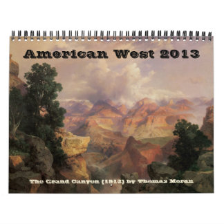 2013 Vintage Fine Art American West Wall Calendars