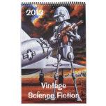 2013 Vintage Science Fiction Sci Fi Calendar