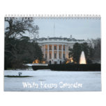 2013 White House Calendar