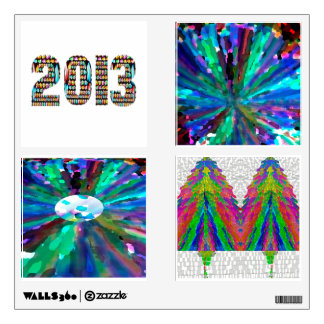 2013 Xmas Holiday Fever Wall Decal