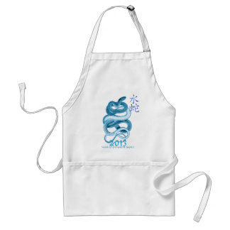 2013 Year of the Snake Apron