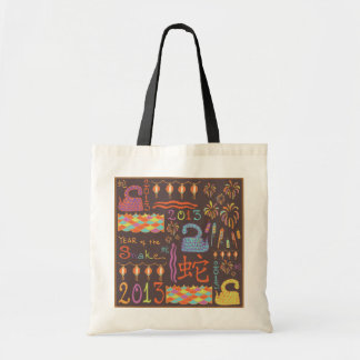 2013 Year of the Snake Tote Bag