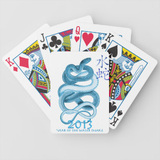 2013 Year of the Snake Bicycle Playing Cards