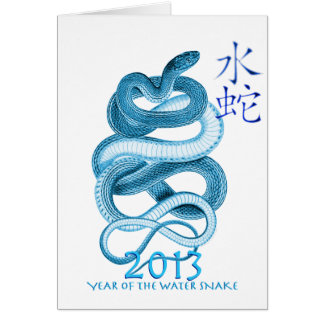 2013 Year of the Snake Cards