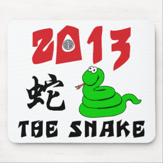 2013 Year of The Snake Mouse Pad
