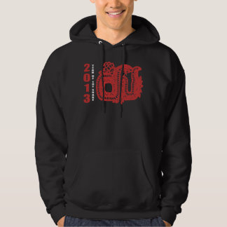 2013 Year of The Snake Paper Cut Hoody