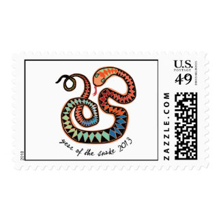 2013 Year of the Snake stamp