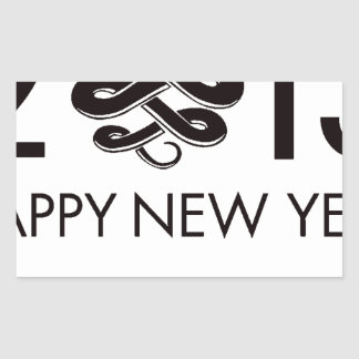 2013 - Year of the Snake Rectangle Stickers