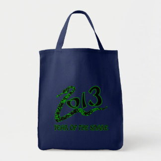 2013 Year of the Snake with Green Snake Bag