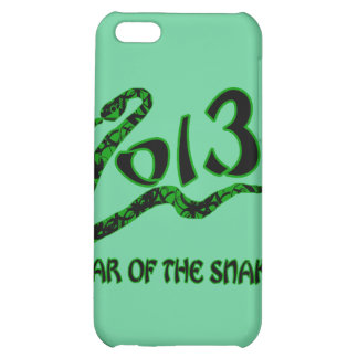 2013 Year of the Snake with Green Snake iPhone 5C Covers