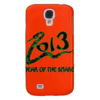2013 Year of the Snake with Green Snake Samsung Galaxy S4 Case