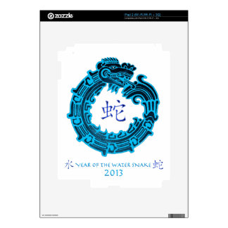 2013 Year of The Water Snake Decal For iPad 2