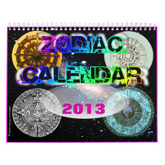 2013 Zodiac Calendar from Crystal Ball