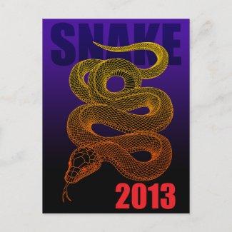 2013SNAKE (A) POSTCARDS