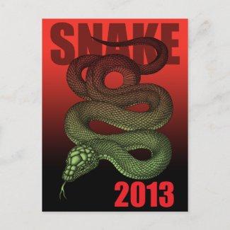 2013SNAKE (B) POST CARD