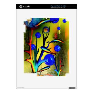 20140226-IMG_5275 fantasía Fische Calcomanía Para El iPad 2
