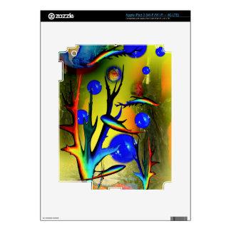20140226-IMG_5275 fantasía Fische iPad 3 Pegatinas Skins