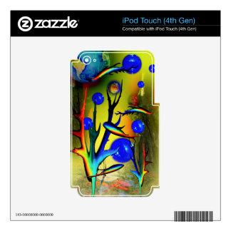 20140226-IMG_5275 fantasía Fische iPod Touch 4G Skin