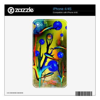 20140226-IMG_5275 fantasía Fische Skin Para El iPhone 4