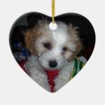 2014-07-30 23.50.12.jpg Double-Sided heart ceramic christmas ornament