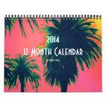 2014 12 Month Calendar