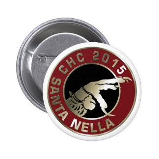 2014/2015 Santa Nella Pinback Button