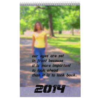 2014 A year of quotes Calendar