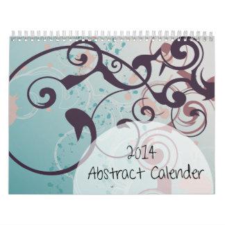 2014 Abstract Calender Calendar