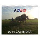 2014 ACDHA Calendar