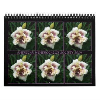 2014 AHS Daylily Calendar