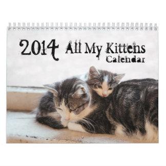 2014 All MyKittens Calendars