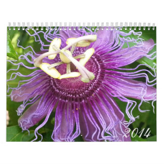 2014 All Things Flowers Wall Calendar