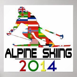 2014: Alpine Skiing Poster