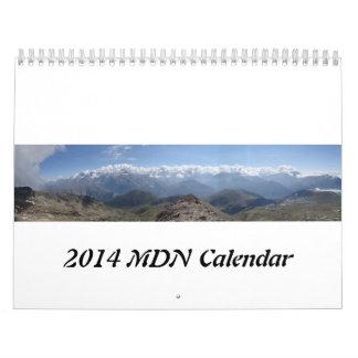 2014 Alps Calendar