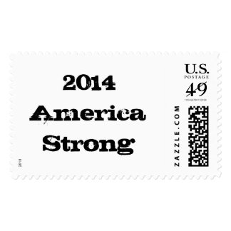 2014 America Strong Stamps. Postage