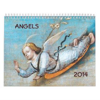 2014 ANGELS  FINE ART COLLECTION 2 CALENDAR