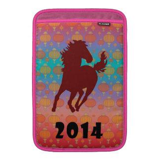 2014 - Año chino del caballo Fundas Macbook Air